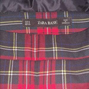 Awesome skinny plaid pants by Zara
